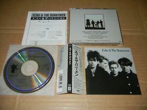 "Echo & The Bunnymen ""S/T"" JAPAN 1st issue CD w/OBI 32XD-805 3200Yen"