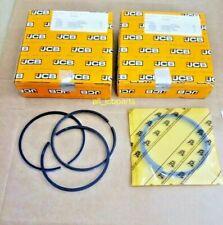 Genuine JCB Piston Ring Kit Std. Turbo, Set of 4 Pcs (Part# 320/09299 320/09213)