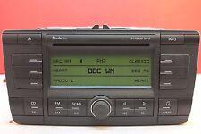 SKODA Octavia MP3 cd radio reproductor estéreo para auto de 2005 2006 2007 2008 2009 Código