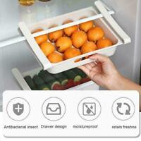 Refrigerator Food Egg Storage Box Rack Fridge Drawer Shelf Organizer F3B4