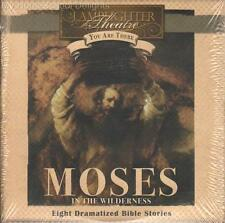 NEW Lamplighter Theater Audio 2 CD Set MOSES IN THE WILDERNESS You Are There