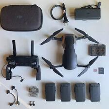 DJI Mavic Air Foldable 4k Drone + Extra Batts + ND Filter Set + 64GB SD Card