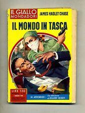 James Hadley Chase # IL MONDO IN TASCA # Mondadori 1960 N.587