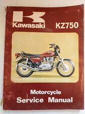 Kawasaki  Motorcycle 1979-1980 Kz750 Service Manual Part# 99924-1013-02 (Fits: Kawasaki)