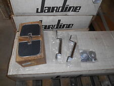 Honda Black Chrome Floorboard Pass GL1100 MC 1300 MC-1300