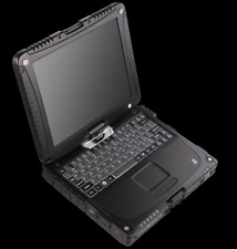 BLACK Panasonic Toughbook CF-19 laptop • 480GB SSD • 16GB Ram • GPS • Win 7 10