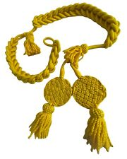 More details for french  nepolenic rachets wool shako cords excellent quality yellow  colour