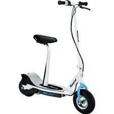 New listing Razor E300S Seated Electric Motorized Scooter - Blue/white