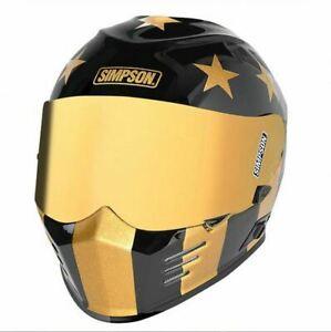 Simpson Ghost Bandit Helmet Limited Edition - Ponyboy - Size: Medium