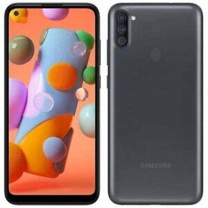 Samsung Galaxy A11 SM-A115AP 32GB AT&T + GSM Unlocked Black Smartphone Open Box