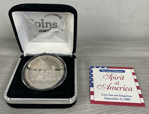 Spirit of America 9/11/2001 1oz .999 Silver Coins of America Second Edition