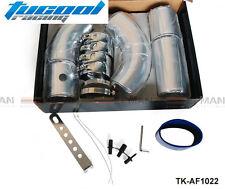 "Universal 3"" Aluminium Air Filter Turbo Intake Intercooler Piping COLD Pipe"