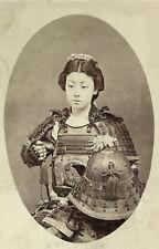 Onna Bugeisha Nakano Takeko 19th century Samurai Japan 7x5 Inch Reprint Photo