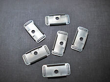 6 pcs 1959 Plymouth door flange moulding clips NOS 6006309