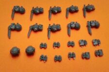 Imperial Guard Cadian Pouches, Grenades, and Helmet Bits