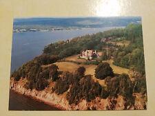 Aerial view of Beinn Bhreagh Home of Alexander Graham Bell, Nova Scotia Postcard