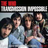 TRANSMISSION IMPOSSIBLE (3CD) by WHO, THE  Compact Disc - 3 CD Box Set  ETTB118