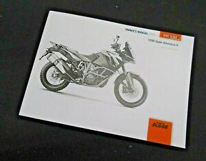 Factory KTM 1290 Super Adventure R Owner's Manual 2020 1290R OEM 3214097EN