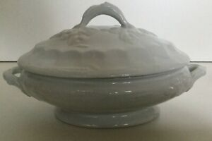 Iron Stone  Barbers Bowl  Bowl  Blue and white Iron wear  Mans head  soup bowl