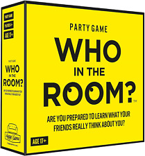 "Who in the room? 21033"" Are You Prepared to Learn What Your Friends Really Think"