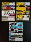 Classic%2C+Lot+Of+3+Magazines%2C+Motor+Trend%2C+October%2C+November%2C+December+2014