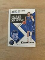 2019-20 Panini NBA Chronicles Luka Doncic