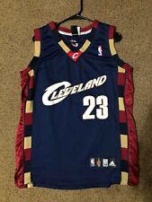 Rare VTG Adidas Cleveland Cavs Lebron James 23 Alternate Jersey sz 48