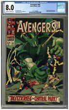 Avengers #45 CGC 8.0