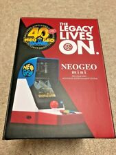SNK NEOGEO mini *NEW* Japanese Console Amazon.co.jp Limited Japan Import Neo Geo
