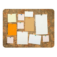 Cork Noticeboard Memo Pin Board Pad Frameless 600x450x18mm Portuguese Treasures