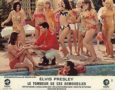 ELVIS PRESLEY  SPINOUT  1966 VINTAGE LOBBY CARD #1