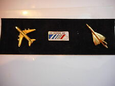 AIR FRANCE PINS CONCORDE - BOEING 747-400 - VINTAGE