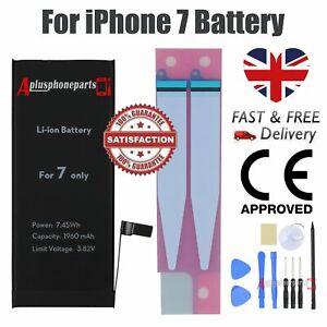 Internal Replacement Battery For iPhone 7 Full Capacity 1960mAh Tool Kit +Tape