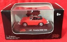 Malibu International 1:87 HO Scale ~ 1959 Porche 356B ~ NEW Die Cast
