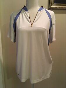 Women's Tail Tech size Large New NWT Short Sleeve Golf Shirt Performance