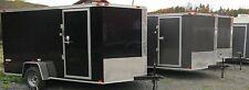 2018 Five Star   Enclosed Cargo Trailer 6 x 12, V-Front, Rear Ramp,Side Door
