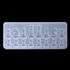 Chess Piece Set Jewellery Moulds - Ideal for Pendants, Necklaces, etc