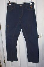 "Patagonia Rhythm Hemp Blue Jeans Size 34 Dark Wash About 35""x31"""