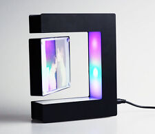 Magnetic levitation floating photo frame magic Black