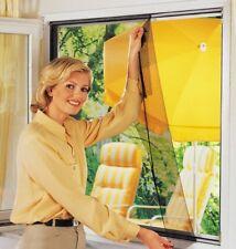 6x Fenster Fliegennetz Fliegengitter 130 x 150 cm schwarz Moskito Insekten Netz