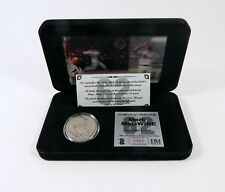 Highland Mint Mark McGwire 62th HR Nickel Silver Coin + Motion Card Set #/1,000
