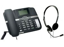 Neo3300 F610 3G GSM DESK TOP PHONE FOR OFFICE, HOME, CALL CENTRES. SIM CARD. NEW