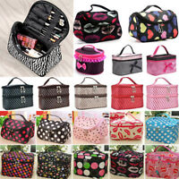 Women Girls Cosmetic Handbag Pouch Travel Toiletry Makeup Bag Storage Organizer