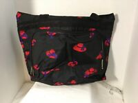 Red Hats Bovano USA Bag Black Overnight Handbag Tote