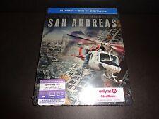 San Andreas-Target Steelbook-Dwayne Johnson must save daughter in earthquake