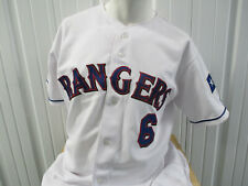 VINTAGE RAWLINGS AUTHENTIC TEXAS RANGERS SIZE 46 SEWN TEAM ISSUED JERSEY 2002