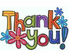 Thank You 48 Large Sticky White Paper Stickers Labels New