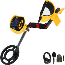 Lcd Metal Detector Gold Finder Deep Waterproof Coil Withheadphone Shovel Backpack