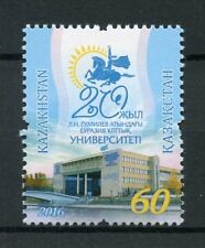 Kazakhstan 2016 MNH LN Gumilyov Eurasian National University 1v Education Stamps