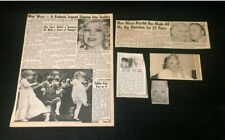Mae West Tabloid Magazine Clippings Articles 70's